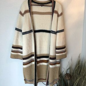 Long Knit Western Cardigan by Staccato